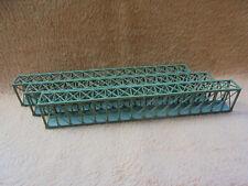 3x Kastenenbrücke - a' 330 mm - Spur N - gebaut / Marke ?