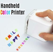 Mbrush Handheld Printer Portable Mini Inkjet Printer Color Barcode Printer 1200d