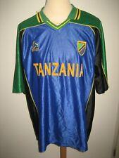 Tanzania home Africa NEW football shirt soccer jersey maillot camiseta size XXL