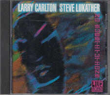 Larry Carlton & Steve Lukather : No Substitutions CD Jazz Fusion Contemporary