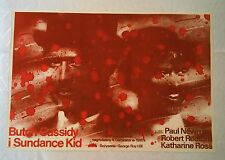 ** BUTCH CASSIDY AND THE SUNDANCE KID ** 1SH /Style A/ Original Polish Poster