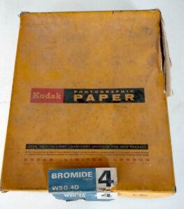 Kodak BROMESKO 4 WSG.4D photographic paper 8 x10 inches