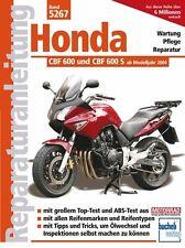 Honda CBF 600 ab 2004 Reparaturanleitung Reparatur-Handbuch Reparaturbuch Buch