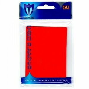 MAX7050LFR Max Protection Alpha Sleeves - Red, 4-pack of 50ct/ea