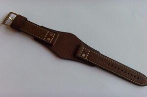 Fossil Recambio Original Pulsera de Cuero CH2987 Correa Reloj Braun Marrón 22MM
