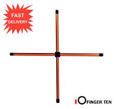Metal Alignment Sticks Golf Training Aids Portable Rods Putting Ball Striking