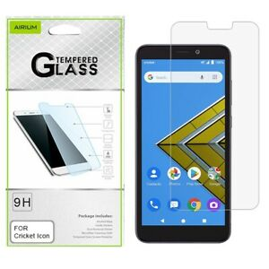 For Cricket Icon At&t ATTU304AA RADIANT Core Tempered Glass Screen Protector
