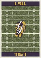 "10x13 Milliken LSU Tigers 1152 NCAA Home Field Area Rug - Approx 10'9""x13'2"""