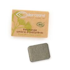 Recharge Fard à Paupières n°42 Vert nacrée  Bio - 1,3 g - Couleur Caramel