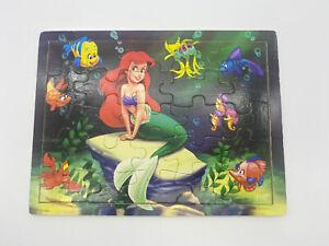 little Mermaid Wooden Tray Puzzle Ariel Disney