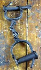 Yuma Territorial Prison AZ Arizona Hand Cuff Iron & Brass Adjustable Handcuffs