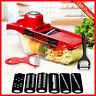 Vegetable Slicer with Steel Blade Mandoline Slicer Vegetable Cutter Kitchen Tool