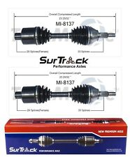Dodge Ram 1500 4WD 2002-2005 Pair of Front CV Axle Shafts SurTrack Set