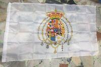 1 bandiera REGNO DELLE DUE SICILIE 145x90 cm Flag STEMMA BORBONICO NAPOLI