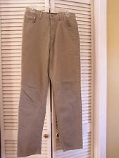 Calvin Klein Easy Fit Jeans Brown Denim 100% Cotton Pants Men's Size 30 x 30