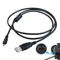 Power USB DC Charger Data SYNC Cable Cord Lead For Nikon Coolpix S8100 camera