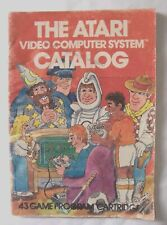 60992 Instruction Insert - The Atari Video Computer System Catalog - Atari 2600