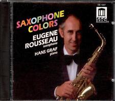 Saxophone Colors - BACH / DEBUSSY / VILLA-LOBOS / GERSHWIN etc - Eugene ROUSSEAU