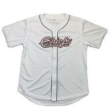 Syracuse Chiefs White Baseball Jersey - Mets - Promotional Shirt - Large or XL