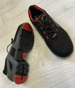 NEW Uvex Safety Trainers ESD Rated 100% Metal-Free Composite Safety Toe Size 10