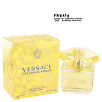 Versace Yellow Diamond Perfume EDT Spray for WOMEN 3 1.6 1.7 oz 90 50 ML NEW