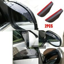 1 Pair Car Rain Board Eyebrow Guard Rear View Side Mirror Sun Visor Accessories