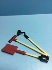 Dollhouse Miniature Rake, Shovel and Hoe