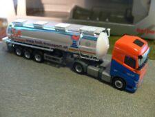 1/87 Herpa Volvo FH GL Troll Lebensmittelchromtank-SZ  918268