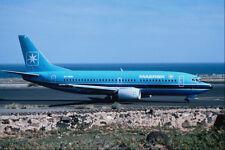 576022 Maersk Air B737 3L9 Las Palmas A4 Photo Print