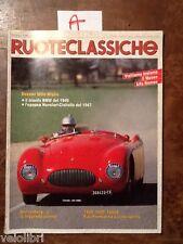 RUOTECLASSICHE Maggio 1988 - Fiat 1200 1500 1600S, Cisitalia 202 SMM