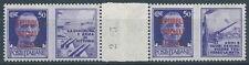 1944 RSI PROPAGANDA DI GUERRA 50 CENT COPPIA PONTE MNH ** - RR4734