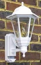 ASD CL/WK100P Coach Lantern with Security PIR Sensor - White
