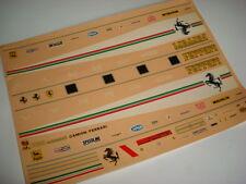 FERRARI CAMION TRASPORTO F1 1980 DECALS 1/43