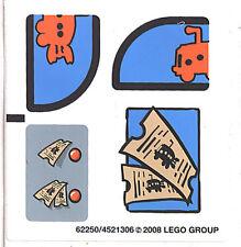 LEGO 3830 - Spongebob - The Bikini Bottom Express - STICKER SHEET