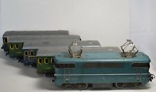 Antique Meccano Train Model B9201 Hornby Paris B9201 Locomotive & Wagons lot toy