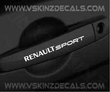 Renault Sport Premium Manija De Puerta Calcomanías Stickers Megane Laguna Clio Scenic F1 me