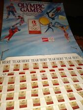 Coca cola Albertville 1992 Olympic pins set of 8 brand new