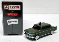 "BLACKSTAR BS00046 -  FIAT 1800 ""POLIZIA STRADALE""  livrea verde scala HO 1:87"