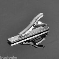 FP Pince À Cravate Barrette Clasp Point Tie Clip Mariage Soiree Hommes Simple