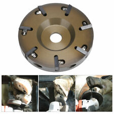 Electric Horse Hoof Knife Livestock Cattle Hoof Trimming Tool Disc Plate 7Blades