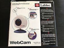 Labtec Webcam Camera XP 961206-0403 USB 2001 Original Box Fast Ship