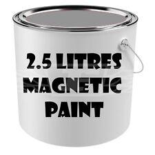 2.5 litres magnétique peinture murale gris foncé attirer aimants mur/table enfant chambre