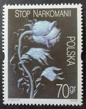 POLAND STAMPS MNH Fi3680 Sc3518 Mi3828 - Fight against drug abuse, 2000, **