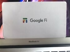 Google Fi SIM Card. DATA ONLY Sim For iPad Tablet PC Modem Laptop. 1GB - $10
