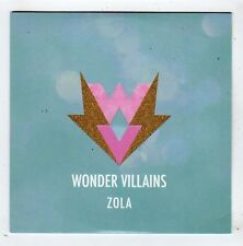 (FY951) Wonder Villains, Zola - 2014 DJ CD