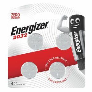 Energizer 2032 battery 4pk - 3v lithium batteries - CR2032