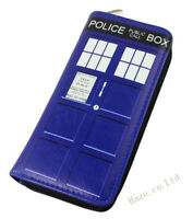 Doctor Who Tardis Comic and Animation Wallet Blue Pocket