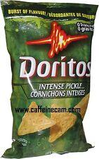 Doritos Tortilla Chips, Intense Pickle, 260 Grams/9.17 Ounce