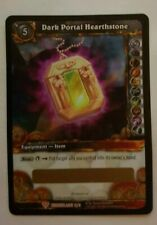 WOW TCG UNSCRATCHED LOOT CARD - DARK PORTAL HEARTHSTONE - ONLY ONE IN THE U.K
