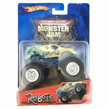 Hot Wheels Monster Jam Monster Truck Robots #11 Blue 2005 Die Cast 1/64 Scale